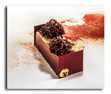 Grossiste Restauration - Bûche Ruby