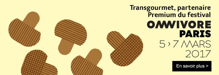 Transgourmet partenaire Premium du festival Omnivore