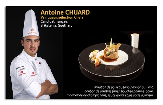 Grossiste alimentaire - Concours culinaire 2016