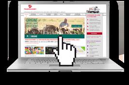 E-gourmet, catalogue en ligne